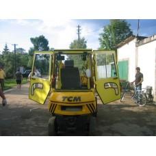 Металлическая кабина на погрузчик TCM ковшовый