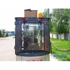 Металлическая кабина на электропогрузчик ТСМ 1-1,8 т
