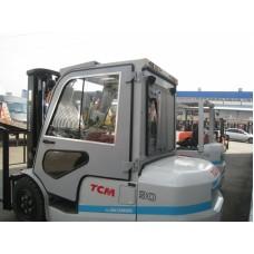 Металлическая кабина для погрузчиков серии TCM 1,5-3т серия Inoma