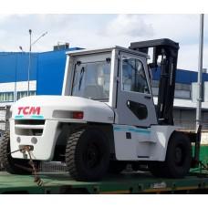 Металлическая кабина на погрузчик ТСМ 6-10 т