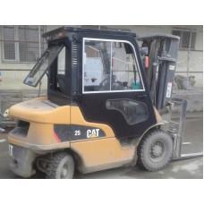Металлическая кабина на погрузчик CAT 3.5т