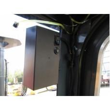 Металлическая кабина на погрузчик CLARK 5т