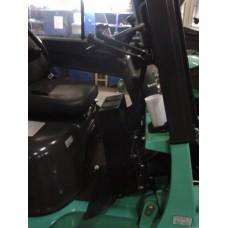Металлическая кабина на погрузчик Dalian 3-3,5т