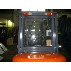 Металлическая кабина на погрузчик HELI 2-3,5 т