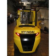 Металлическая кабина на погрузчик новой серии Hyundai 50DA-9K