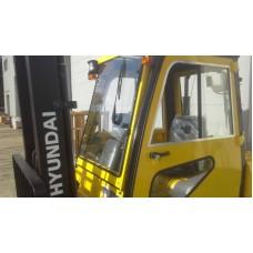 Металлическая кабина на погрузчик Hyundai 2-3,5т