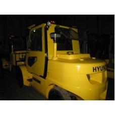 Металлическая кабина на погрузчик Hyundai 5т