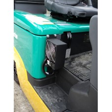 Металлическая кабина на электропогрузчики Komatsu 1.5 и 2.5т
