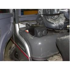 Металлическая кабина на Nissan 3,5-5 т
