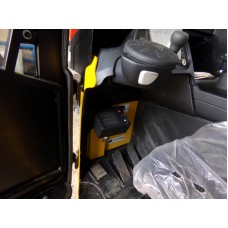 Металлическая кабина на ричтрак Yale MR16HD